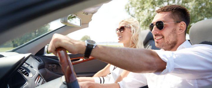 NetVox Assurances - Conseils assurance auto risques standards : bien choisir ses lunettes de soleil au volant